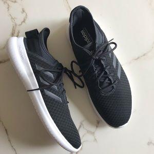 Adidas Cloudfoam Black Running Shoes